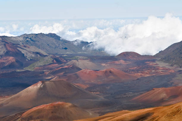 Haleakala National Park stock photo