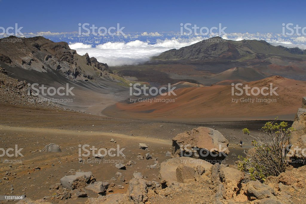 Haleakala National Park royalty-free stock photo