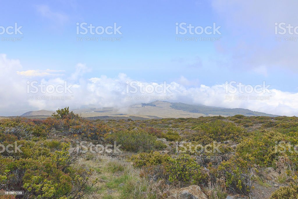 Haleakala royalty-free stock photo