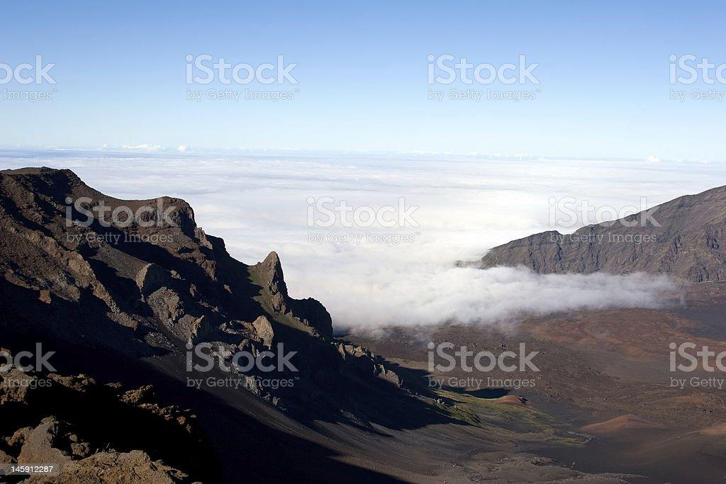 Haleakala Summit royalty-free stock photo