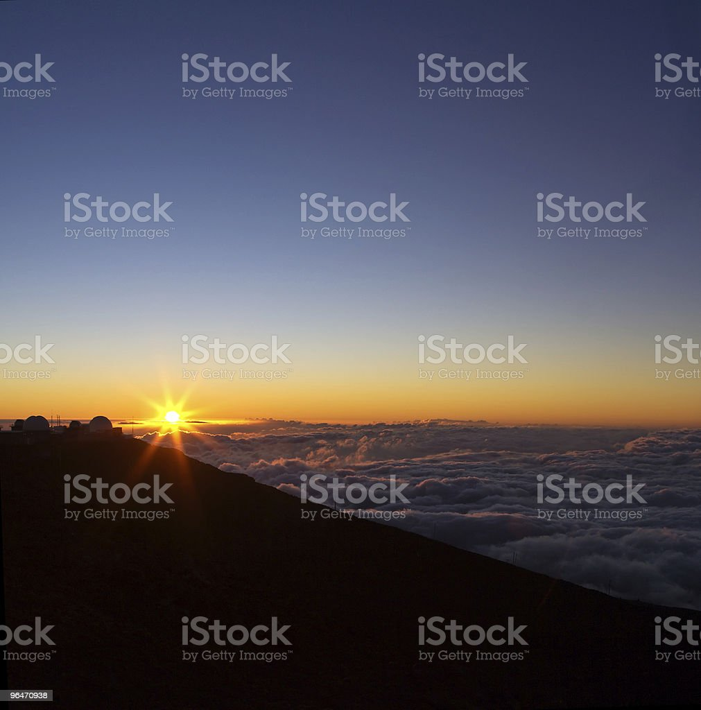 Haleakala View royalty-free stock photo