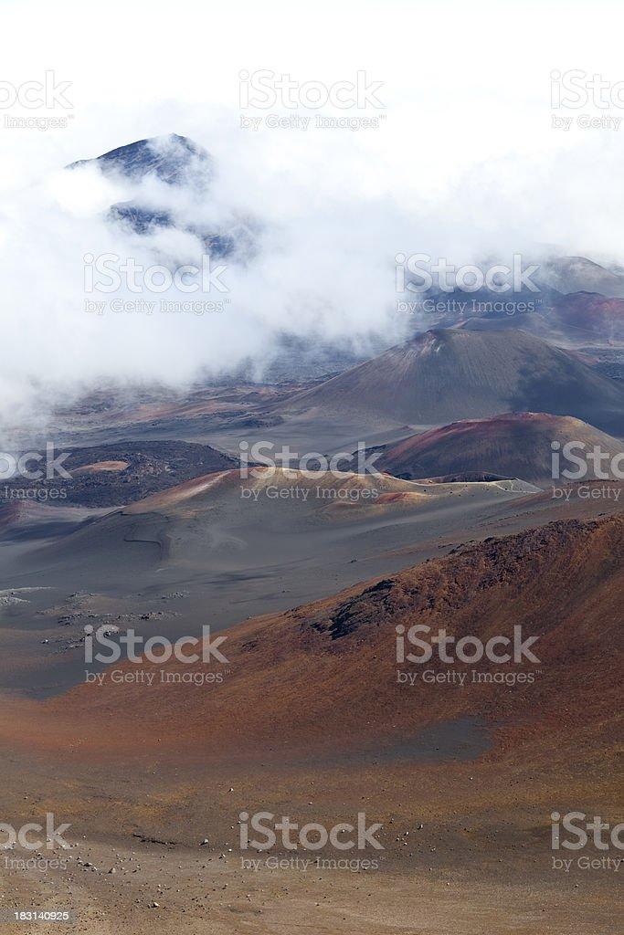 haleakala volcano royalty-free stock photo