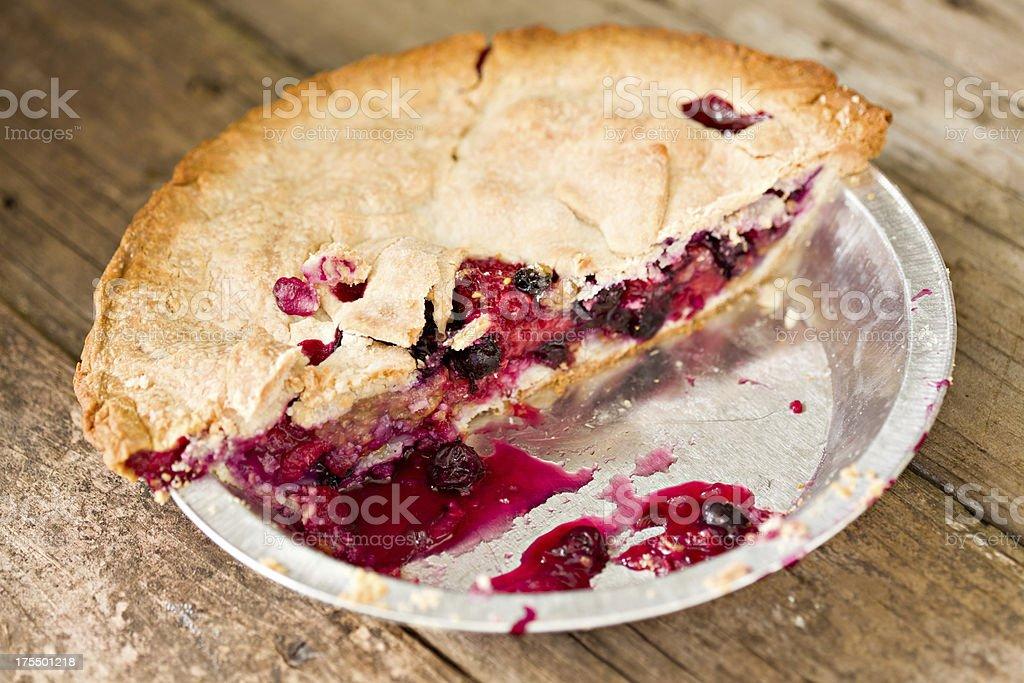 Half A Pie stock photo