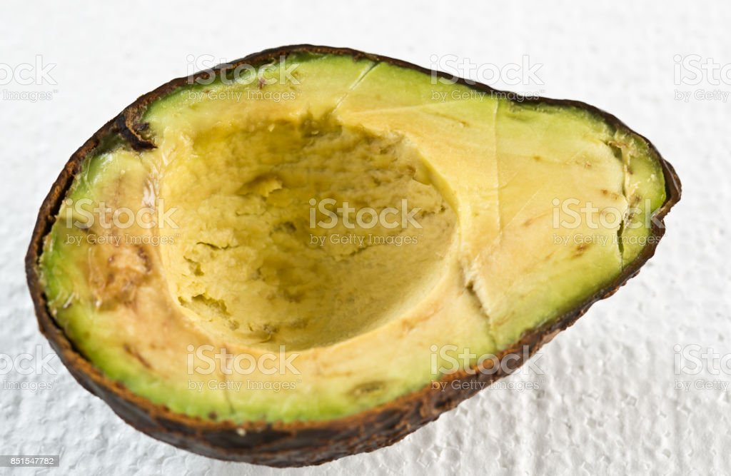 how to know when avocado is rotten