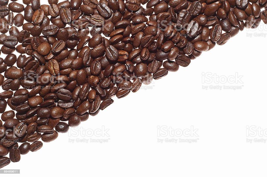 half coffee royalty-free stock photo