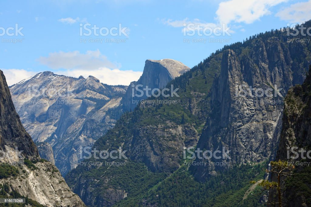 Half Dome, Ca, Yosemite National Park stock photo