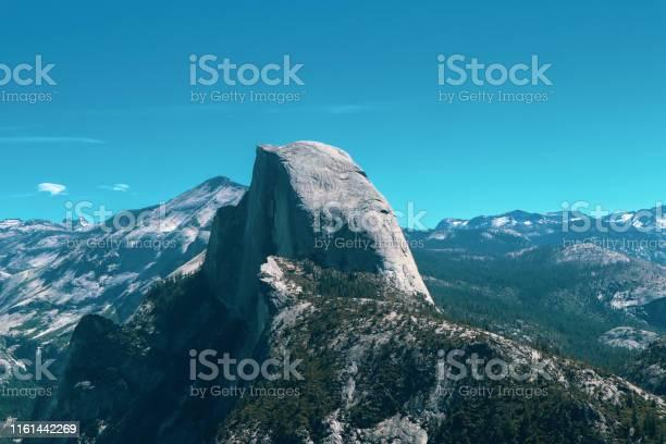 Photo of Half Dome from Glacier in Yosemite Park