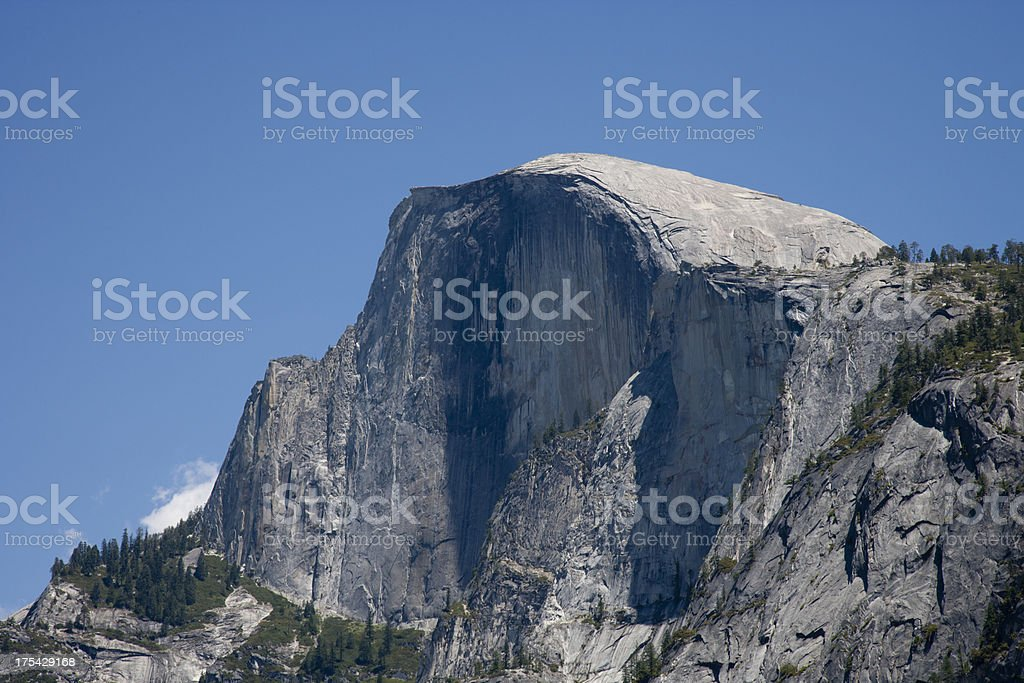 Half Dome royalty-free stock photo