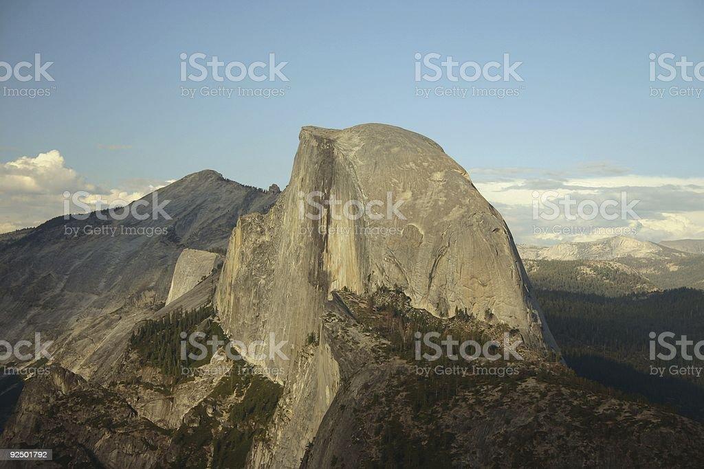 Half Dome royalty-free stock photo