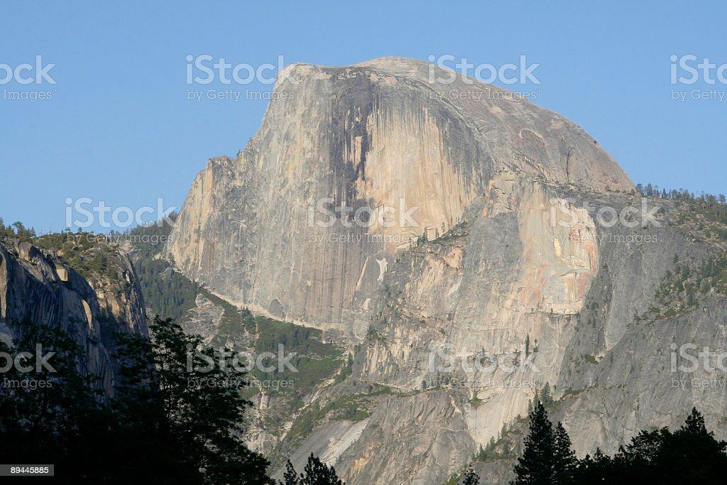 Half Dome de la Vallée de Yosemite, en Californie photo libre de droits