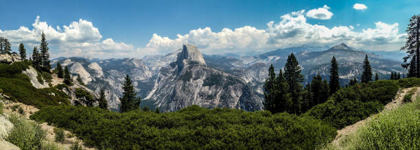 Half Dome, Yosemite National Park, USA stock photo