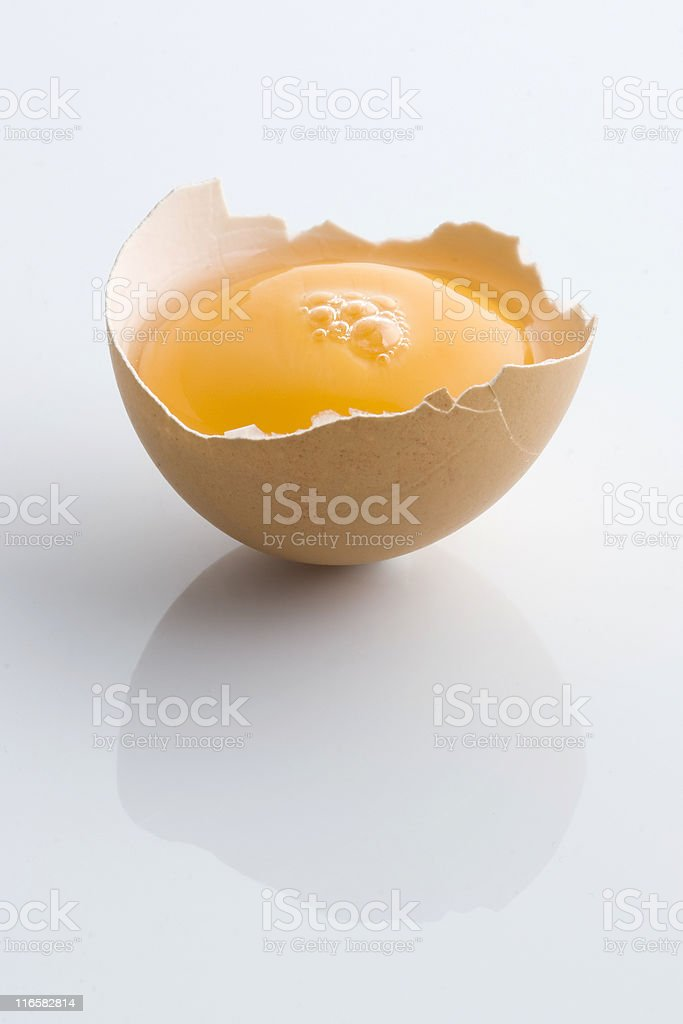 Half egg royalty-free stock photo