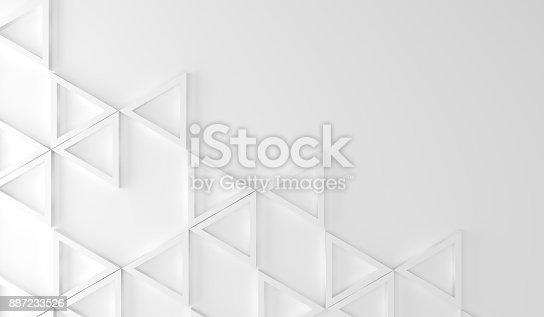 istock Half Empty Background With Figures 887233526