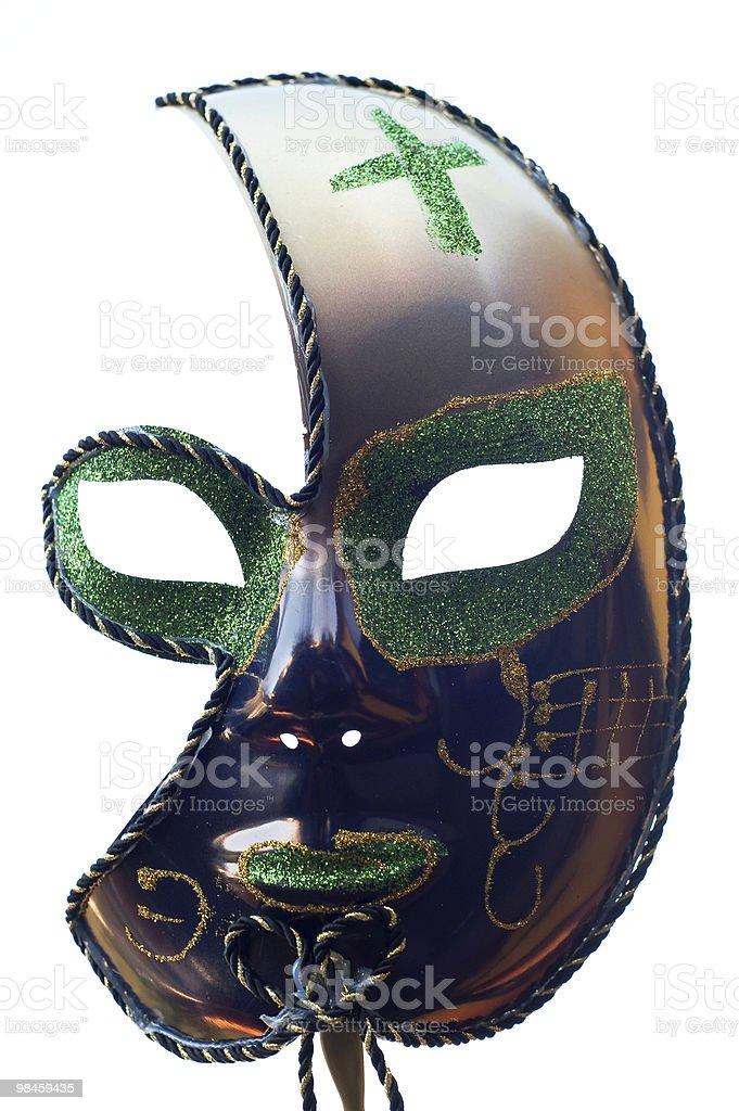 Half Mask royalty-free stock photo