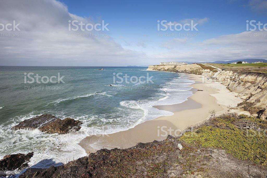 Half Moon Bay California stock photo
