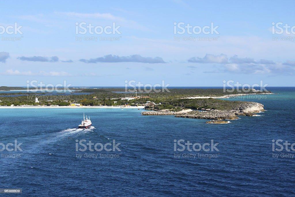 Half Moon Cay in the Bahamas - Royalty-free Atlantic Ocean Stock Photo