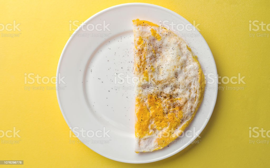 Half Plate Of Crumbled Egg Plate On Yellow Background Stock Photo Download Image Now Istock It does not include leg protection beyond simple greaves that are attached with leather straps. half plate of crumbled egg plate on yellow background stock photo download image now istock