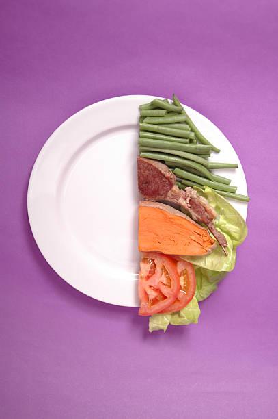 Half Portion stock photo