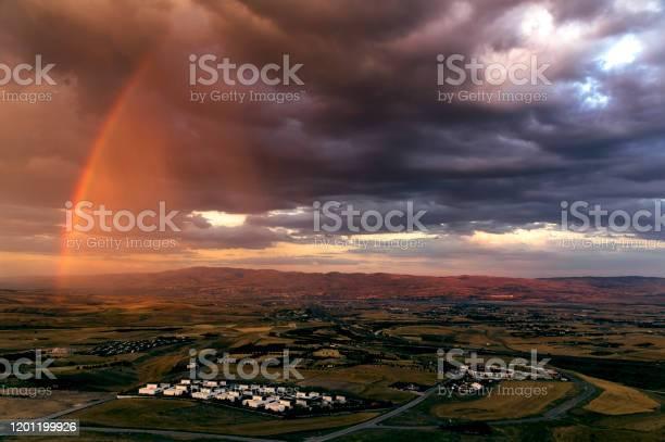 Half Rainbow Stock Photo - Download Image Now
