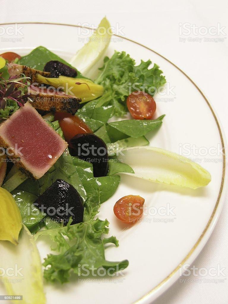 Half Salad royalty-free stock photo