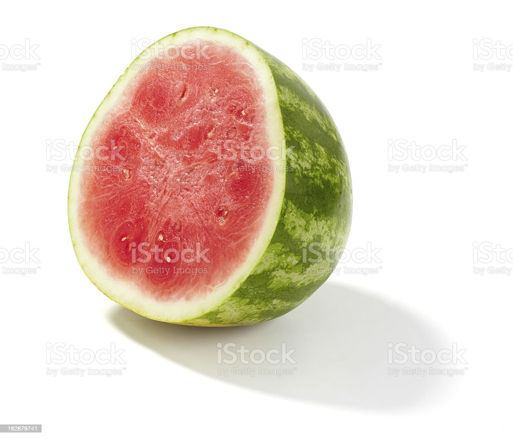 Half Seedless Watermelon royalty-free stock photo