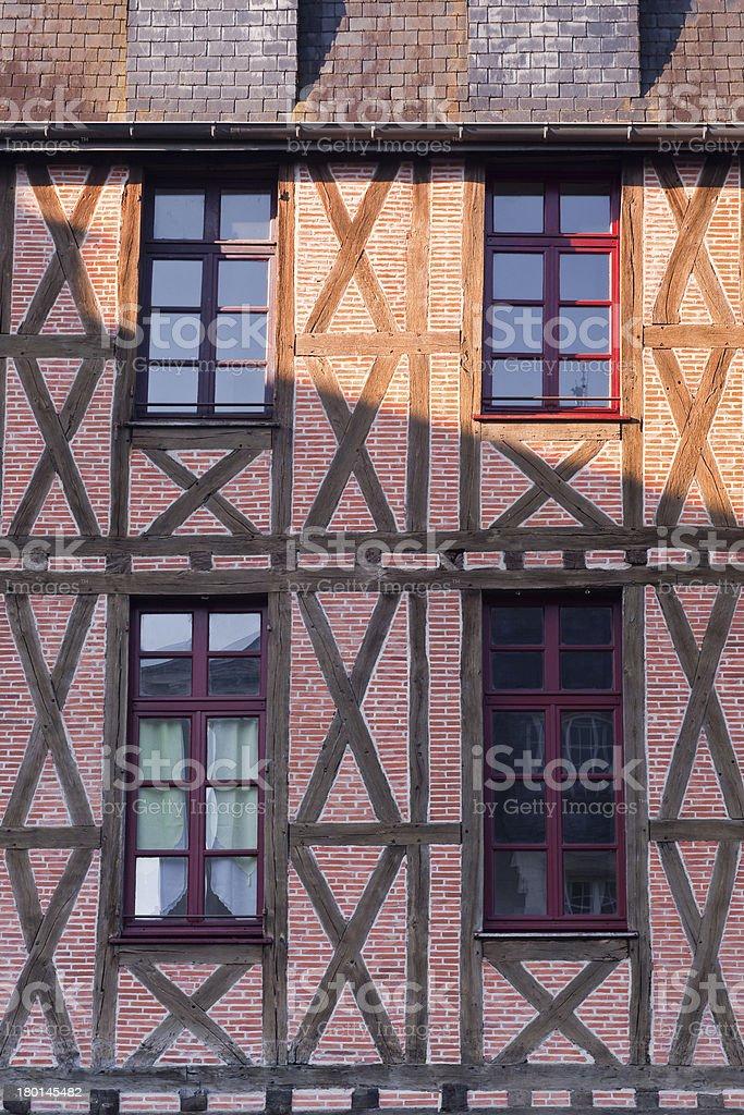 Half timbered house royalty-free stock photo