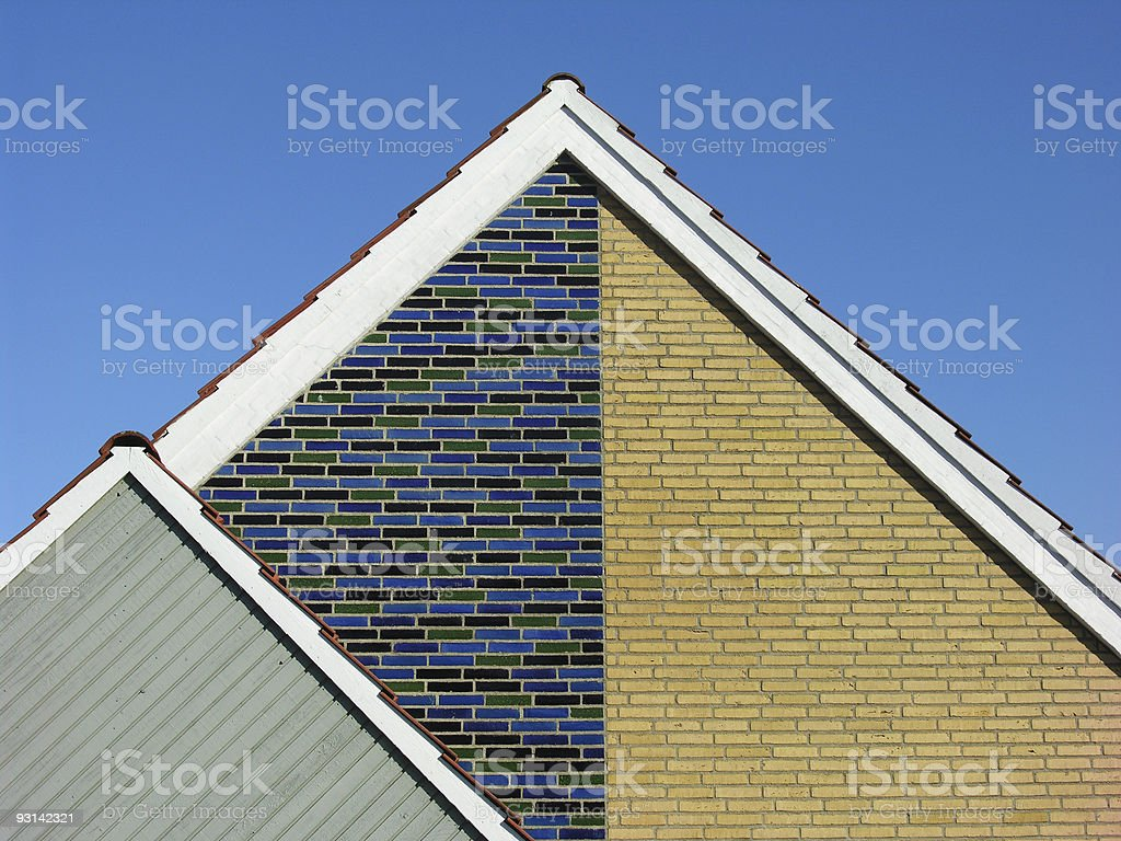 Half Triangles stock photo