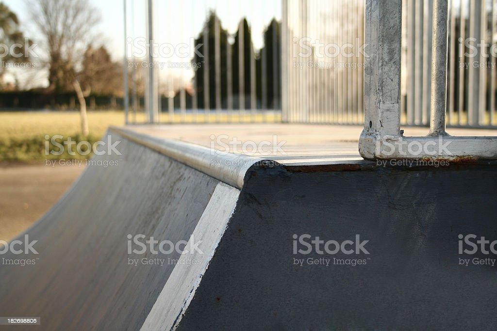 halfpipe stock photo