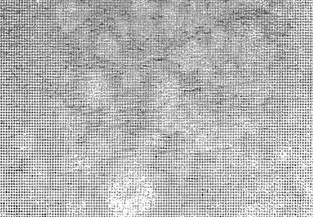 A halftone abstract grunge background stock photo