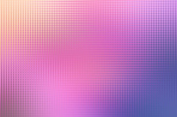 Halftone Background Blue Fusia Pink Purple – Foto