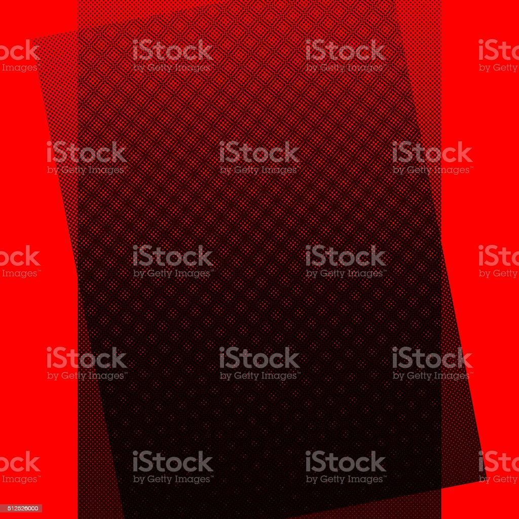 Halftone dots background stock photo