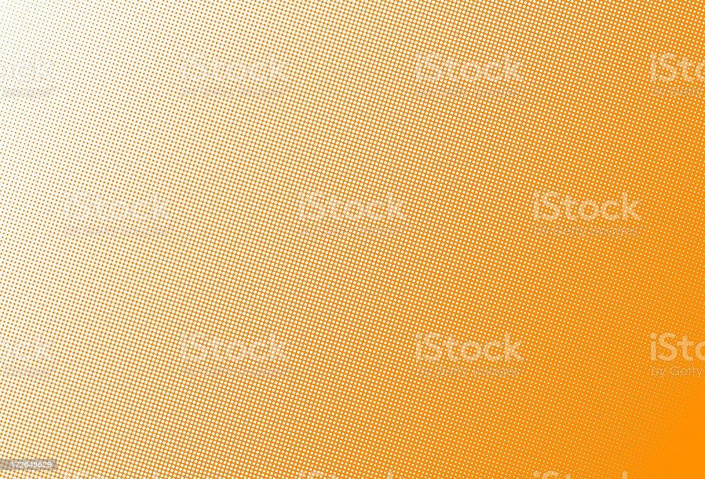 Halftone dots stock photo