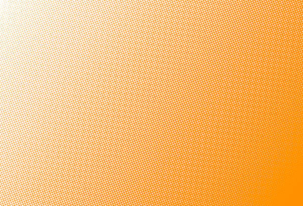 Halftone dots stock photo