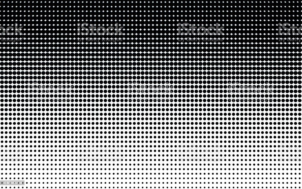 Halftone dots. stock photo