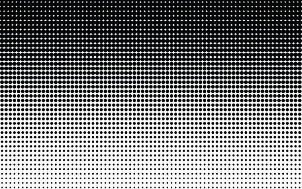 points de demi-teintes. - monochrome image teintée photos et images de collection