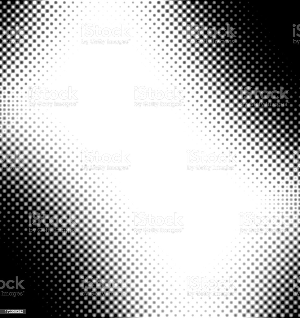 halftone dots XXXL royalty-free stock photo