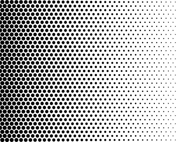halftone effect - spotted stock pictures, royalty-free photos & images