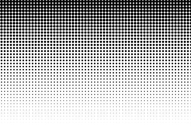 Halftone effect stock photo