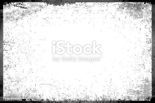 1141265505istockphoto Halftone monochrome grunge horizontal lines texture. 1140400861