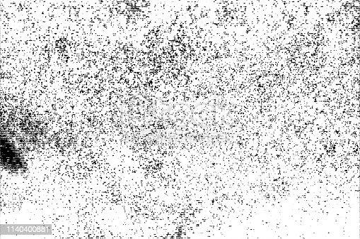 1141265505istockphoto Halftone monochrome grunge horizontal lines texture. 1140400881