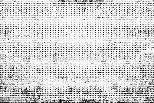 1141265505istockphoto Halftone monochrome grunge horizontal lines texture. 1141265538