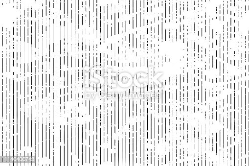 1141265505istockphoto Halftone monochrome grunge vertical lines texture. 1140400743