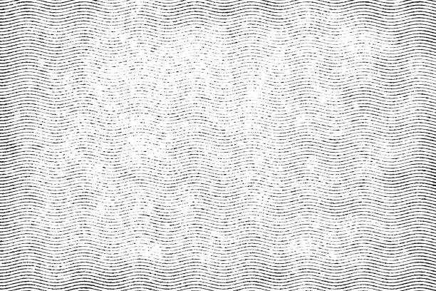 halftone monohrome grunge lines texture - штриховой рисунок стоковые фото и изображения