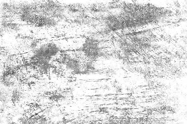 texture de lignes demi-teinte monohrome grunge - gravure à photos et images de collection