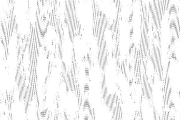 ハーフトーン monohrome グランジ線テクスチャ ストックフォト