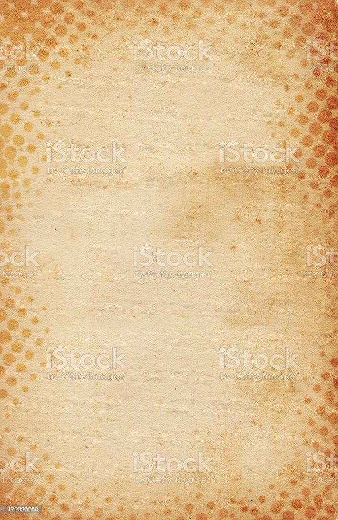 Halftone Paper XXXL royalty-free stock photo