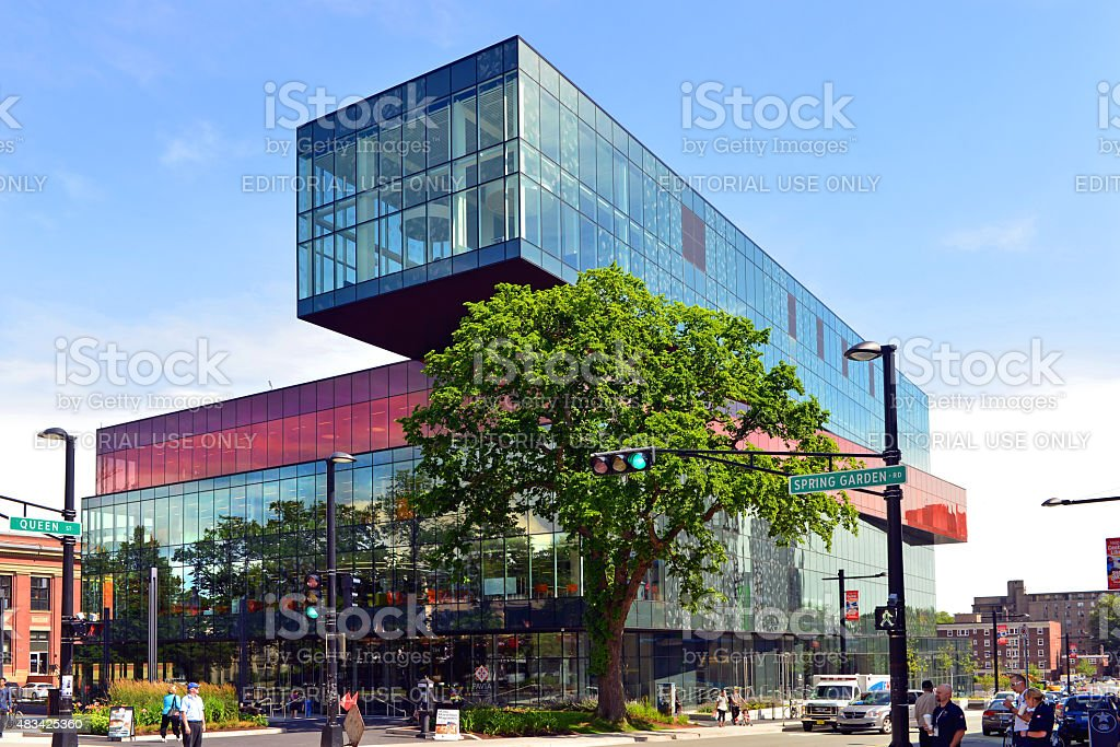 Halifax Central Library stock photo
