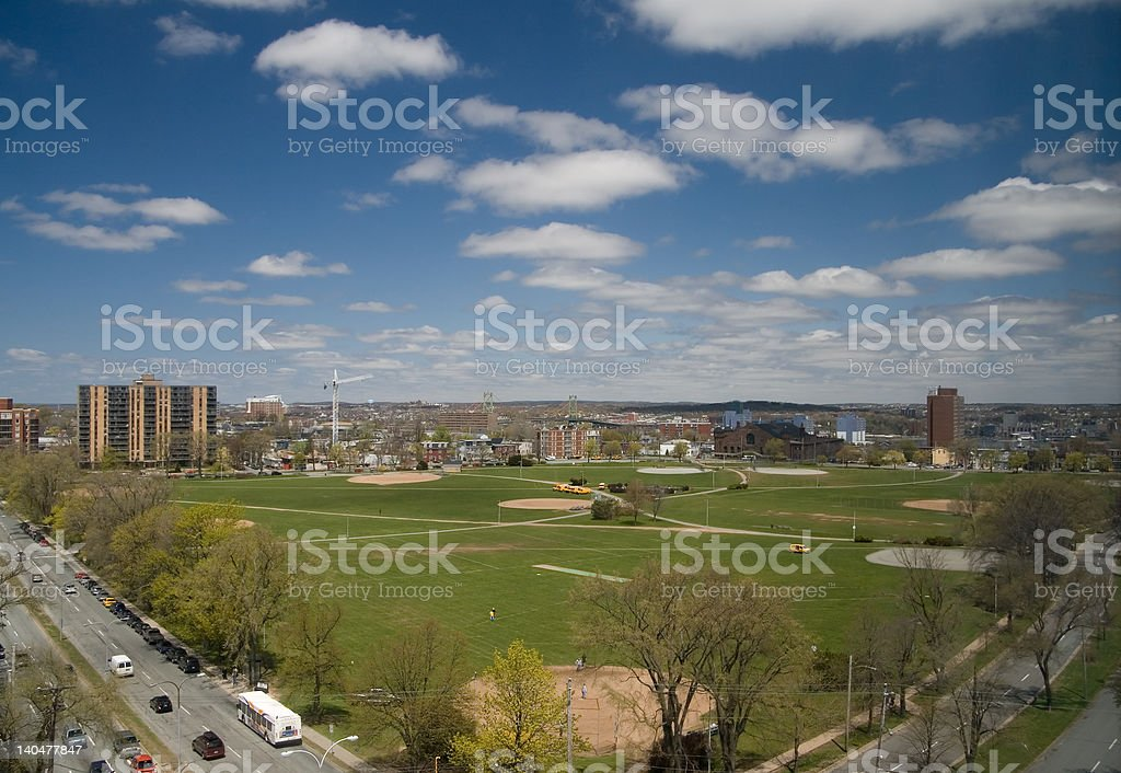 Halifax Common royalty-free stock photo
