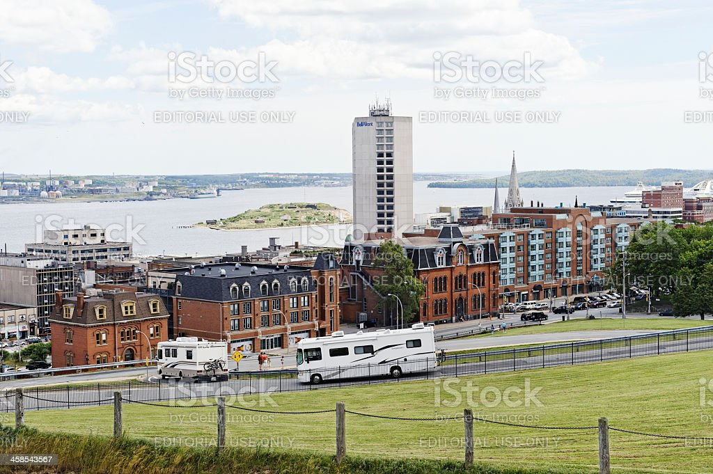Halifax Harbour royalty-free stock photo