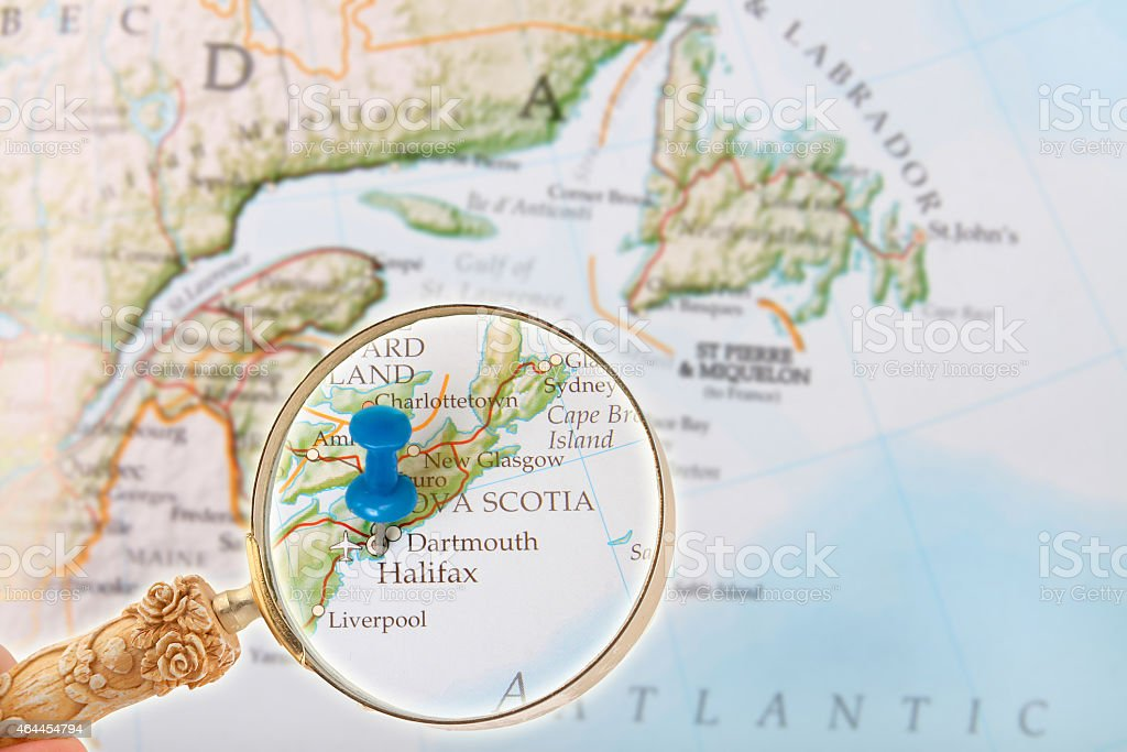 Halifax, Nova Scotia, Canada stock photo